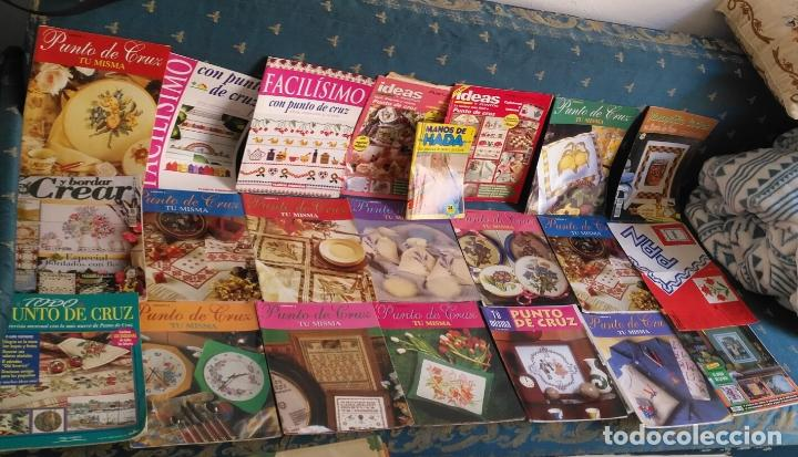 Coleccionismo de Revistas y Periódicos: GRAN LOTE DE REVISTAS PUNTO DE CRUZ ....PATRONES DISEÑOS DIBUJOS ..... VER FOTOS - Foto 6 - 138666646