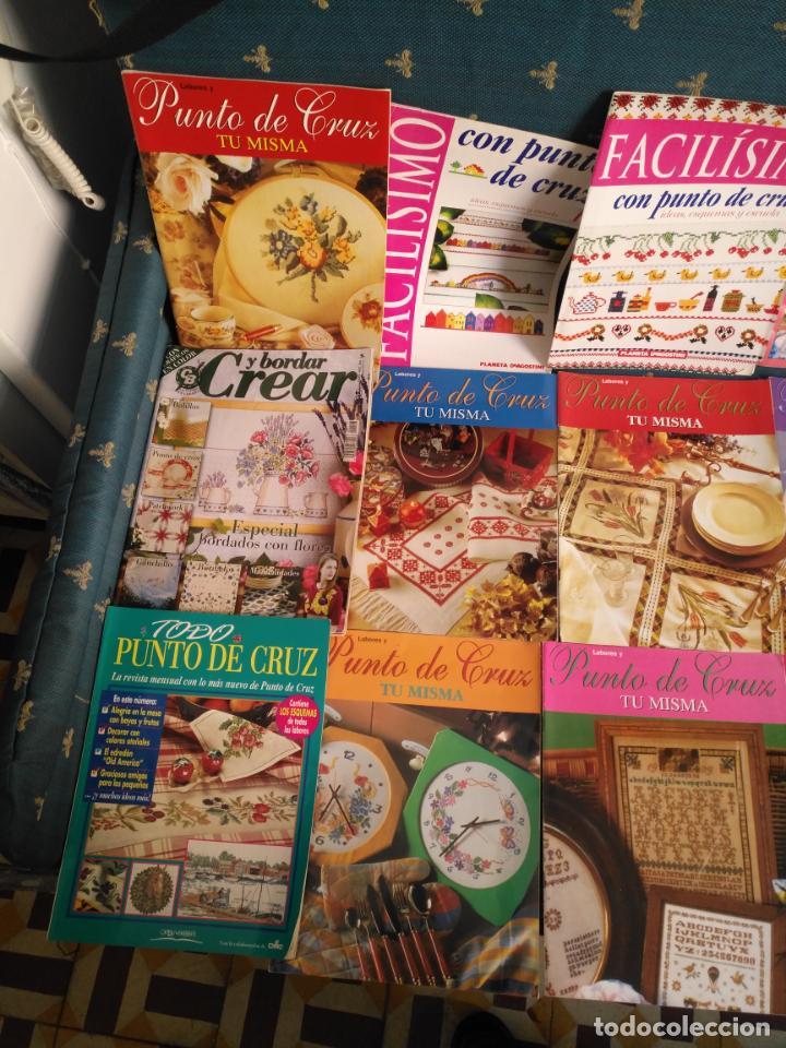 Coleccionismo de Revistas y Periódicos: GRAN LOTE DE REVISTAS PUNTO DE CRUZ ....PATRONES DISEÑOS DIBUJOS ..... VER FOTOS - Foto 9 - 138666646