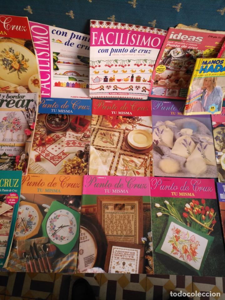 Coleccionismo de Revistas y Periódicos: GRAN LOTE DE REVISTAS PUNTO DE CRUZ ....PATRONES DISEÑOS DIBUJOS ..... VER FOTOS - Foto 10 - 138666646