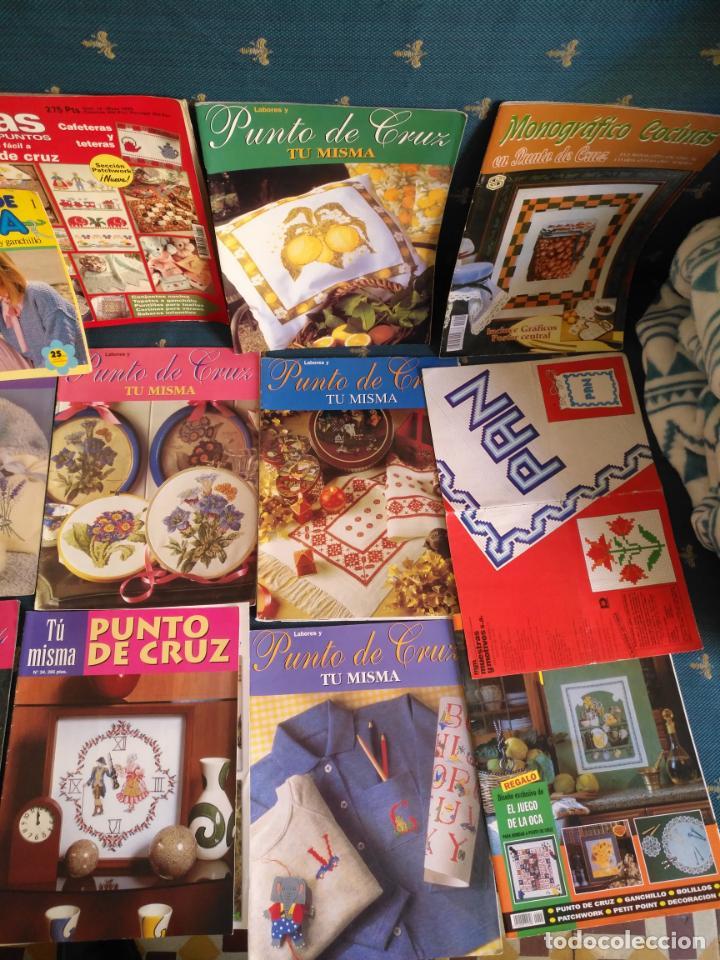 Coleccionismo de Revistas y Periódicos: GRAN LOTE DE REVISTAS PUNTO DE CRUZ ....PATRONES DISEÑOS DIBUJOS ..... VER FOTOS - Foto 11 - 138666646