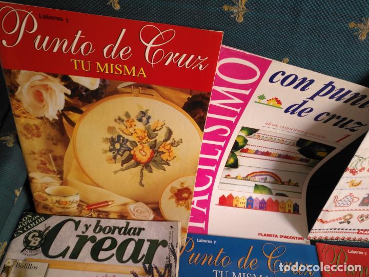 Coleccionismo de Revistas y Periódicos: GRAN LOTE DE REVISTAS PUNTO DE CRUZ ....PATRONES DISEÑOS DIBUJOS ..... VER FOTOS - Foto 12 - 138666646