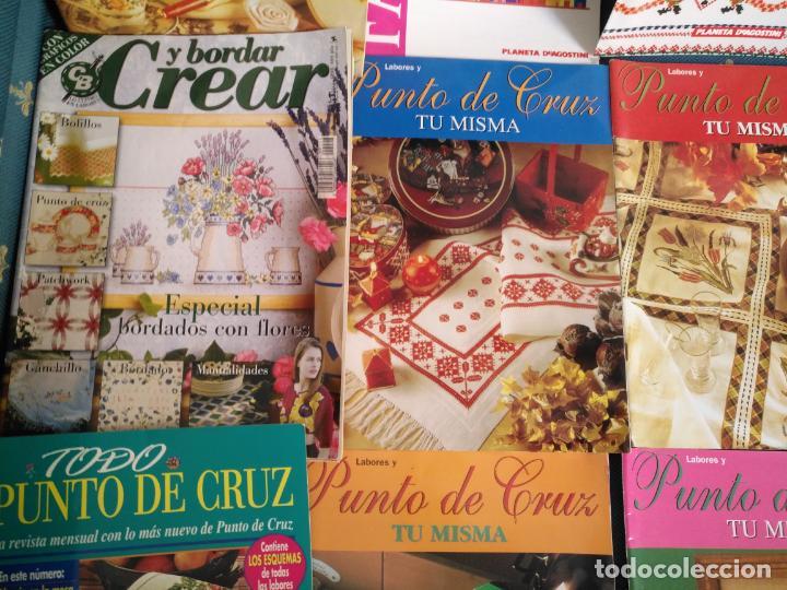 Coleccionismo de Revistas y Periódicos: GRAN LOTE DE REVISTAS PUNTO DE CRUZ ....PATRONES DISEÑOS DIBUJOS ..... VER FOTOS - Foto 13 - 138666646
