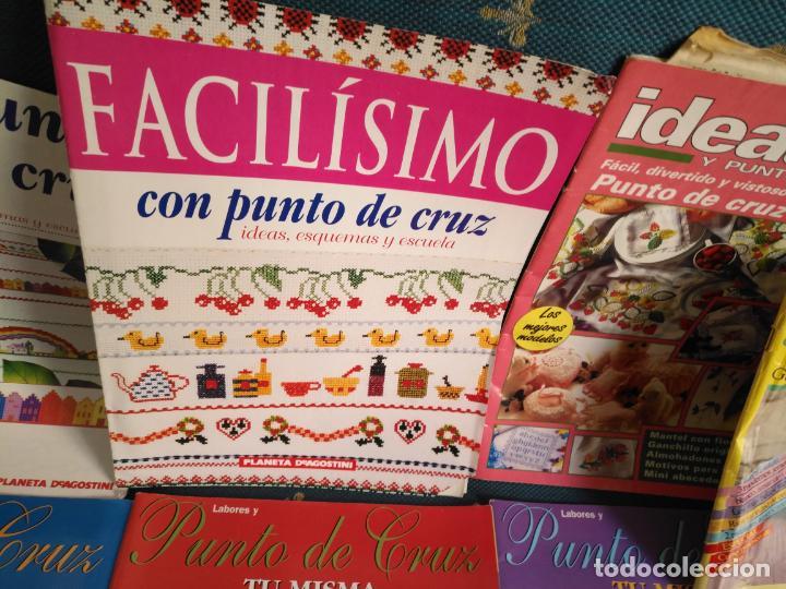 Coleccionismo de Revistas y Periódicos: GRAN LOTE DE REVISTAS PUNTO DE CRUZ ....PATRONES DISEÑOS DIBUJOS ..... VER FOTOS - Foto 17 - 138666646