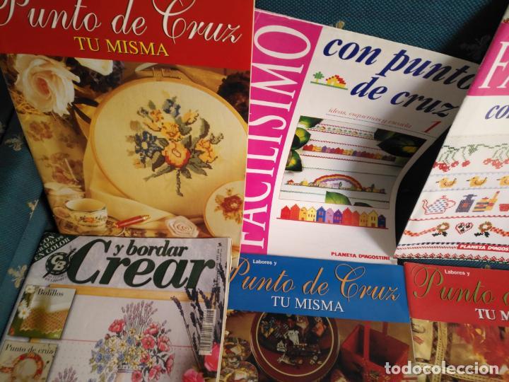 Coleccionismo de Revistas y Periódicos: GRAN LOTE DE REVISTAS PUNTO DE CRUZ ....PATRONES DISEÑOS DIBUJOS ..... VER FOTOS - Foto 19 - 138666646