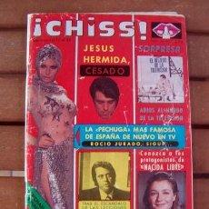 Coleccionismo de Revistas y Periódicos: REVISTA CHISS / ROCIO JURADO, DURCAL, UN DOS TRES, CLAUDIA MARSANI, SUSANA ESTRADA, MARY FRANCIS. Lote 138676030