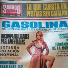 Coleccionismo de Revistas y Periódicos: SÁBADO GRAFICO 877. Lote 138676790