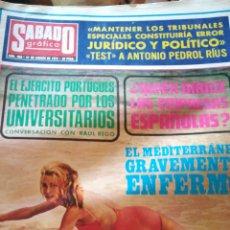 Coleccionismo de Revistas y Periódicos: SÁBADO GRAFICO. NUM 900. Lote 138676856