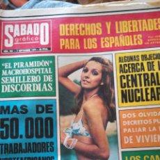Coleccionismo de Revistas y Periódicos: SÁBADO GRAFICO. NUM 901. Lote 138676908