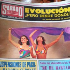Coleccionismo de Revistas y Periódicos: SÁBADO GRAFICO. NUM 911. Lote 138677042