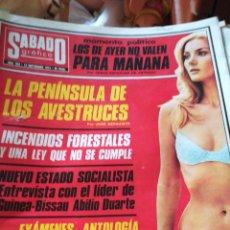 Coleccionismo de Revistas y Periódicos: SÁBADO GRAFICO. NUM 902. Lote 138677128