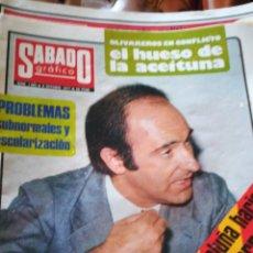 Coleccionismo de Revistas y Periódicos: SÁBADO GRAFICO. NUM 1062.1977. Lote 138677238