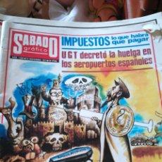 Coleccionismo de Revistas y Periódicos: SÁBADO GRAFICO. NUM 1068. Lote 138677440