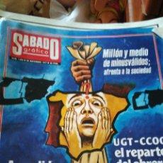 Coleccionismo de Revistas y Periódicos: SÁBADO GRAFICO 1069. Lote 138677526
