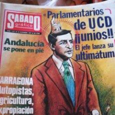 Coleccionismo de Revistas y Periódicos: SÁBADO GRAFICO. NUM 1071. Lote 138677764