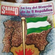 Coleccionismo de Revistas y Periódicos: SÁBADO GRAFICO 1072. Lote 138677852