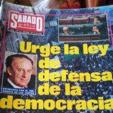 Coleccionismo de Revistas y Periódicos: SÁBADO GRAFICO 1061. Lote 138677932