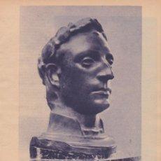 Coleccionismo de Revistas y Periódicos: * ARTE * OBRAS DE MATEO INURRIA, JOSÉ FRAU, RUTH VELÁZQUEZ, HUGUET - 1935. Lote 245338280