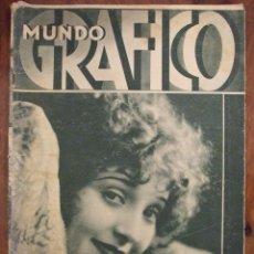 Coleccionismo de Revistas y Periódicos: MUNDO GRAFICO 989 (15/10/31) DIRIGIBLE R-101 MADGE BELLAMY - BUEN ESTADO. Lote 138770482