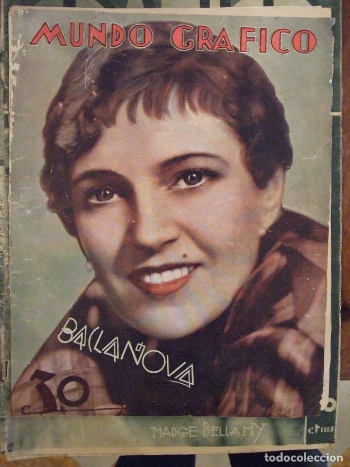 MUNDO GRAFICO 946 - BUEN ESTADO (Coleccionismo - Revistas y Periódicos Antiguos (hasta 1.939))