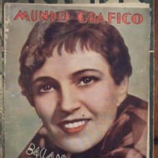 Coleccionismo de Revistas y Periódicos: MUNDO GRAFICO 946 - BUEN ESTADO. Lote 138771550