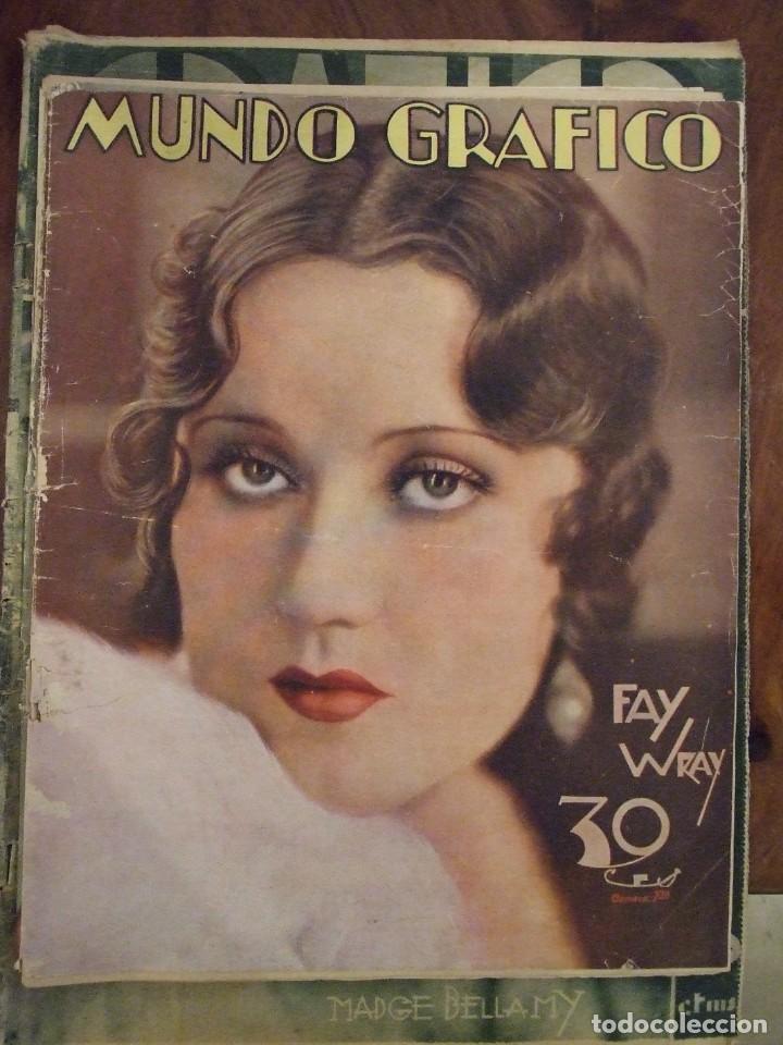MUNDO GRAFICO 967 - BUEN ESTADO (Coleccionismo - Revistas y Periódicos Antiguos (hasta 1.939))