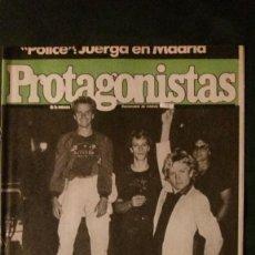 Coleccionismo de Revistas y Periódicos: POLICE-STING-STARSKY-LUIS MARIANO-ROCIO DURCAL. Lote 138802518