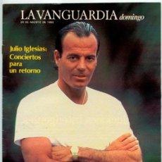 Coleccionismo de Revistas y Periódicos: LA VANGUARDIA - 1983 - JULIO IGLESIAS. Lote 50208884