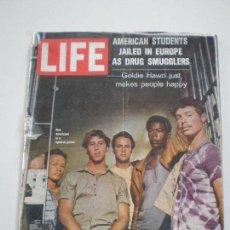 Coleccionismo de Revistas y Periódicos: LIFE -JULY 6 -1970 =5 AMERICANOS EN CARCEL ESPAÑOLA DROGAS SURF LOUISE HUEBENER BRUJAS BIZARRO LSD. Lote 138860546