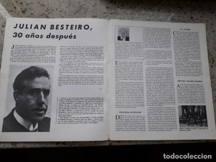 Coleccionismo de Revistas y Periódicos: INDICE 276 OCTUBRE 1970.HOMENAJE MUNDIAL AL CHE GUEVARA.ALFONSO SASTRE.EUGENIA SERRANO.MARIA MULET - Foto 3 - 138871082