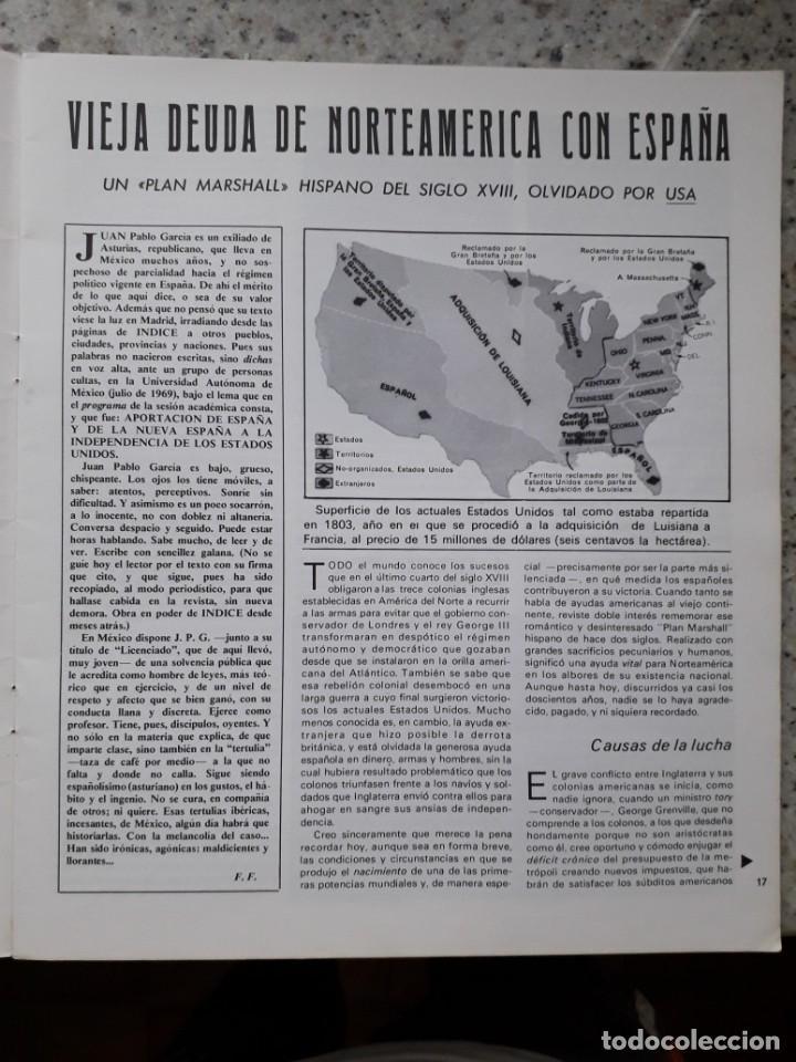Coleccionismo de Revistas y Periódicos: INDICE 276 OCTUBRE 1970.HOMENAJE MUNDIAL AL CHE GUEVARA.ALFONSO SASTRE.EUGENIA SERRANO.MARIA MULET - Foto 6 - 138871082