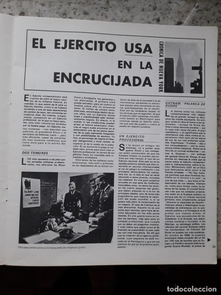 Coleccionismo de Revistas y Periódicos: INDICE 276 OCTUBRE 1970.HOMENAJE MUNDIAL AL CHE GUEVARA.ALFONSO SASTRE.EUGENIA SERRANO.MARIA MULET - Foto 7 - 138871082