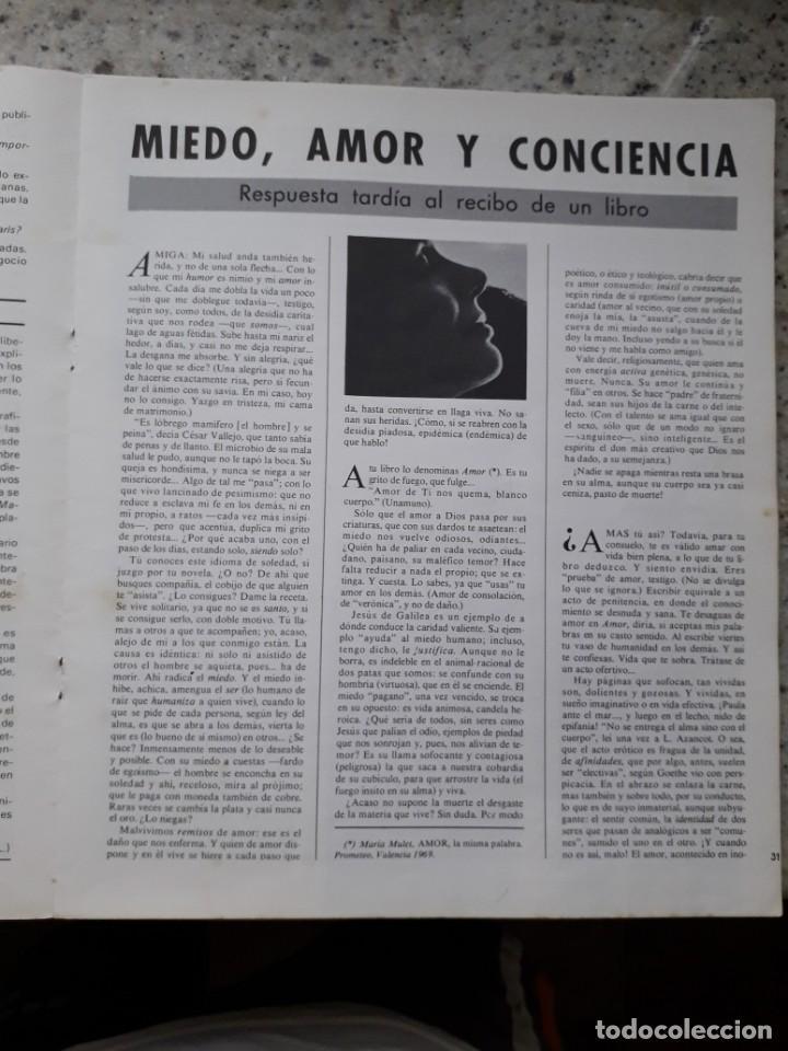 Coleccionismo de Revistas y Periódicos: INDICE 276 OCTUBRE 1970.HOMENAJE MUNDIAL AL CHE GUEVARA.ALFONSO SASTRE.EUGENIA SERRANO.MARIA MULET - Foto 10 - 138871082