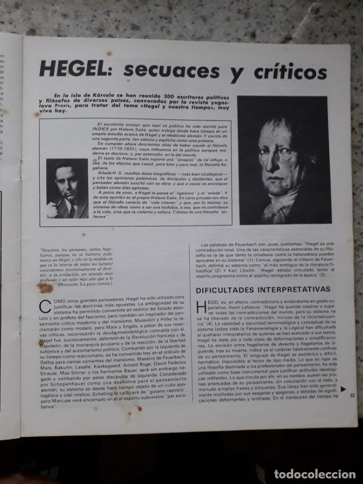 Coleccionismo de Revistas y Periódicos: INDICE 276 OCTUBRE 1970.HOMENAJE MUNDIAL AL CHE GUEVARA.ALFONSO SASTRE.EUGENIA SERRANO.MARIA MULET - Foto 11 - 138871082