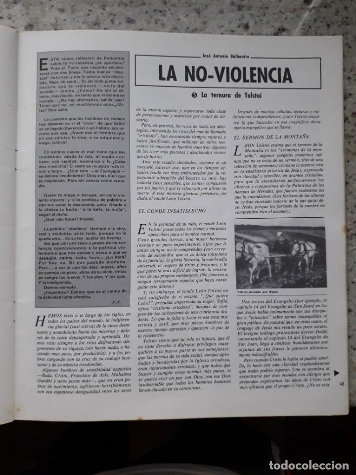 Coleccionismo de Revistas y Periódicos: INDICE 276 OCTUBRE 1970.HOMENAJE MUNDIAL AL CHE GUEVARA.ALFONSO SASTRE.EUGENIA SERRANO.MARIA MULET - Foto 12 - 138871082