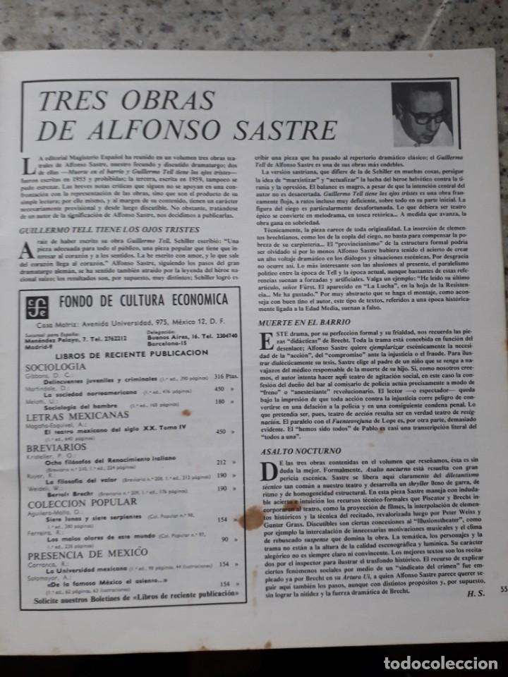 Coleccionismo de Revistas y Periódicos: INDICE 276 OCTUBRE 1970.HOMENAJE MUNDIAL AL CHE GUEVARA.ALFONSO SASTRE.EUGENIA SERRANO.MARIA MULET - Foto 18 - 138871082