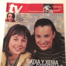 Coleccionismo de Revistas y Periódicos: REVISTA EL SEMANAL TV. 1 AL 7 MARZO 2002. CHENOA, OT, JOSÉ MARÍA ÍÑIGO. Lote 138910945