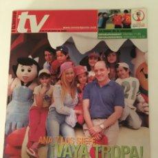 Coleccionismo de Revistas y Periódicos: REVISTA EL SEMANAL TV. 7 AL 13 JUNIO 2002. ANA Y LOS SIETE. Lote 138913470