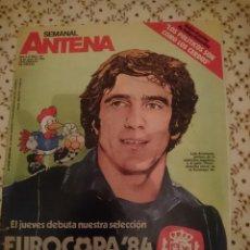 Coleccionismo de Revistas y Periódicos: REVISTA SEMANAL ANTENA - ESPECIAL EUROCOPA 84 --REFM3E3. Lote 138917654