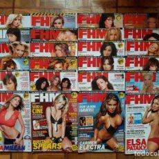 Coleccionismo de Revistas y Periódicos: LOTE REVISTA FHM Y ESPECIALES. Lote 138919802