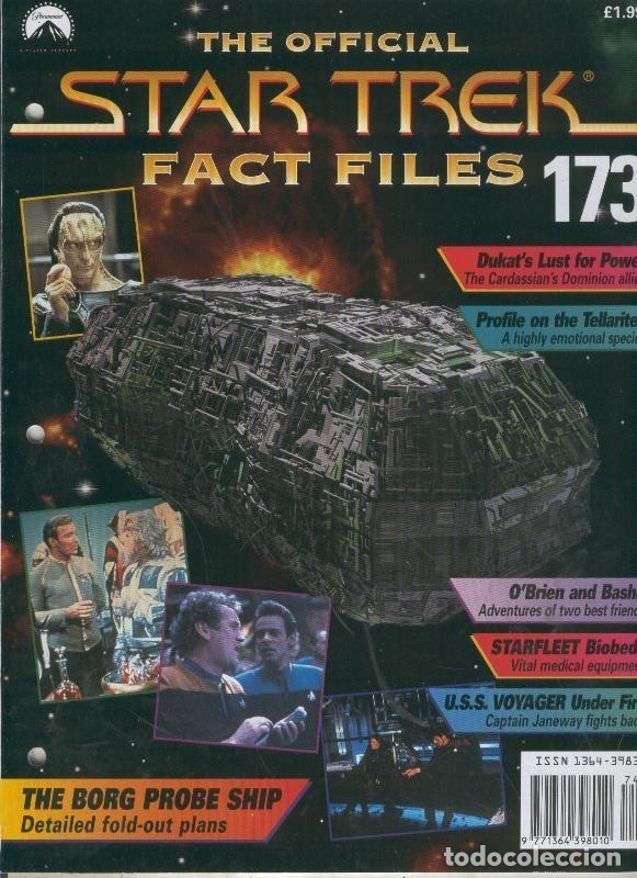 The Official Star Trek Fact Files 173 Comprar Otras Revistas Y