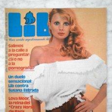 Coleccionismo de Revistas y Periódicos: LIB - 1978 - PAVLOVSKY, LOVA MOOR, SUSANA ESTRADA, ORCHIDEA DE SANTIS, PATRIZIA FUNARI. Lote 45518809