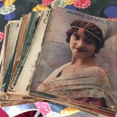 Coleccionismo de Revistas y Periódicos: REVISTAS MUNDO GRÁFICO. Lote 138949806