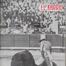 Coleccionismo de Revistas y Periódicos: EL KARRIL. Nº 113. DICIEMBRE 1935. 28X20CM. 11 P. PEPE PARADAS. Lote 138958806