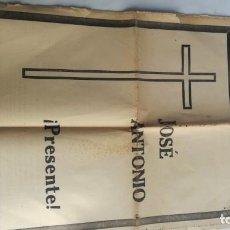Coleccionismo de Revistas y Periódicos: HOJA DEL LUNES-PROVINCIA DE GUIPUZOCA-21 NOVIEMBRE 1938-JOSE ANTONIO ¡ PRESENTE !-GUERRA CIVIL-. Lote 139009802