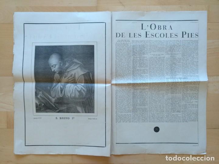 Coleccionismo de Revistas y Periódicos: EL ORDES RELIGIOSOS A CATALUNYA SUPLEMENT D'EL MATI 34 X 52 CM (APROX) 16 PAGINAS. RELIGION - Foto 8 - 139051018