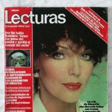 Coleccionismo de Revistas y Periódicos: LECTURAS - 1983 - JOAN COLLINS, LEE CURRERI, MARADONA, LA TRINCA, MARÍA JIMÉNEZ, VICTORIA VERA. Lote 69245165