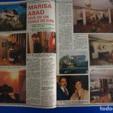 Coleccionismo de Revistas y Periódicos: RECORTE REPORTAJE CLIPPING DE MARISA ABAD REVISTA SEMANA Nº 2201 PÁG 46 Y 47. Lote 139171110
