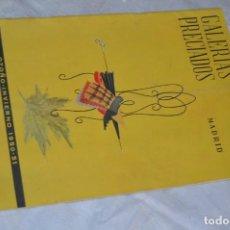 Coleccionismo de Revistas y Periódicos: VINTAGE - ANTIGUO CATÁLOGO GALERÍAS PRECIADOS - MADRID - OTOÑO / INVIERNO 1950 Y 51 - ENVÍO 24H. Lote 139184610