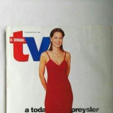Coleccionismo de Revistas y Periódicos: REVISTA EL SEMANAL TV MAYO 1998 ISABEL PREYSLER. Lote 139215129