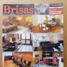 Coleccionismo de Revistas y Periódicos: REVISTA BRISAS 838 DESPACHOS DE GOBIERNO ANTONI BENNASSAR TEATRO DE TERESETES JOAN SEGUI. Lote 139308030